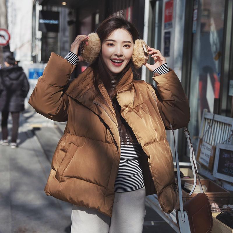 2016新款冬装韩版小款立领面包服女式棉服韩国短款棉袄子学生bf潮