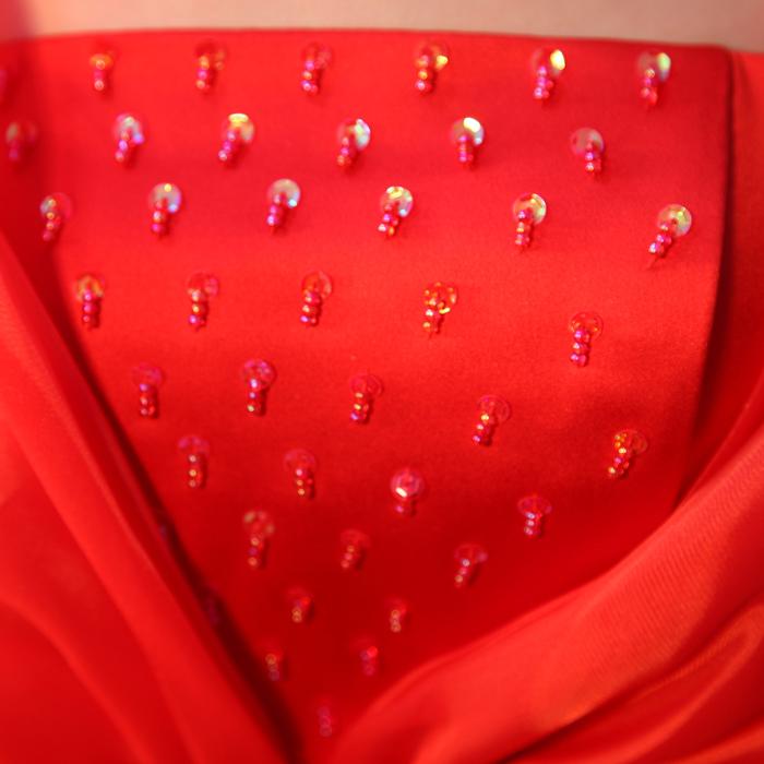 Свадебное платье Popular Bride 2013 B5117 Атлас, сатин