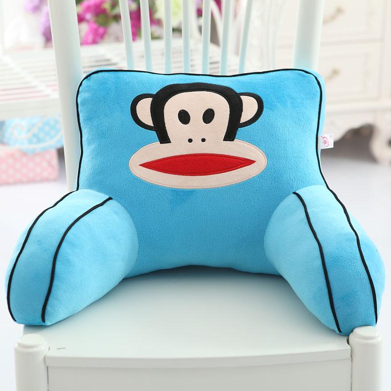 Цвет: Paul Frank Голубые квадратные подушки
