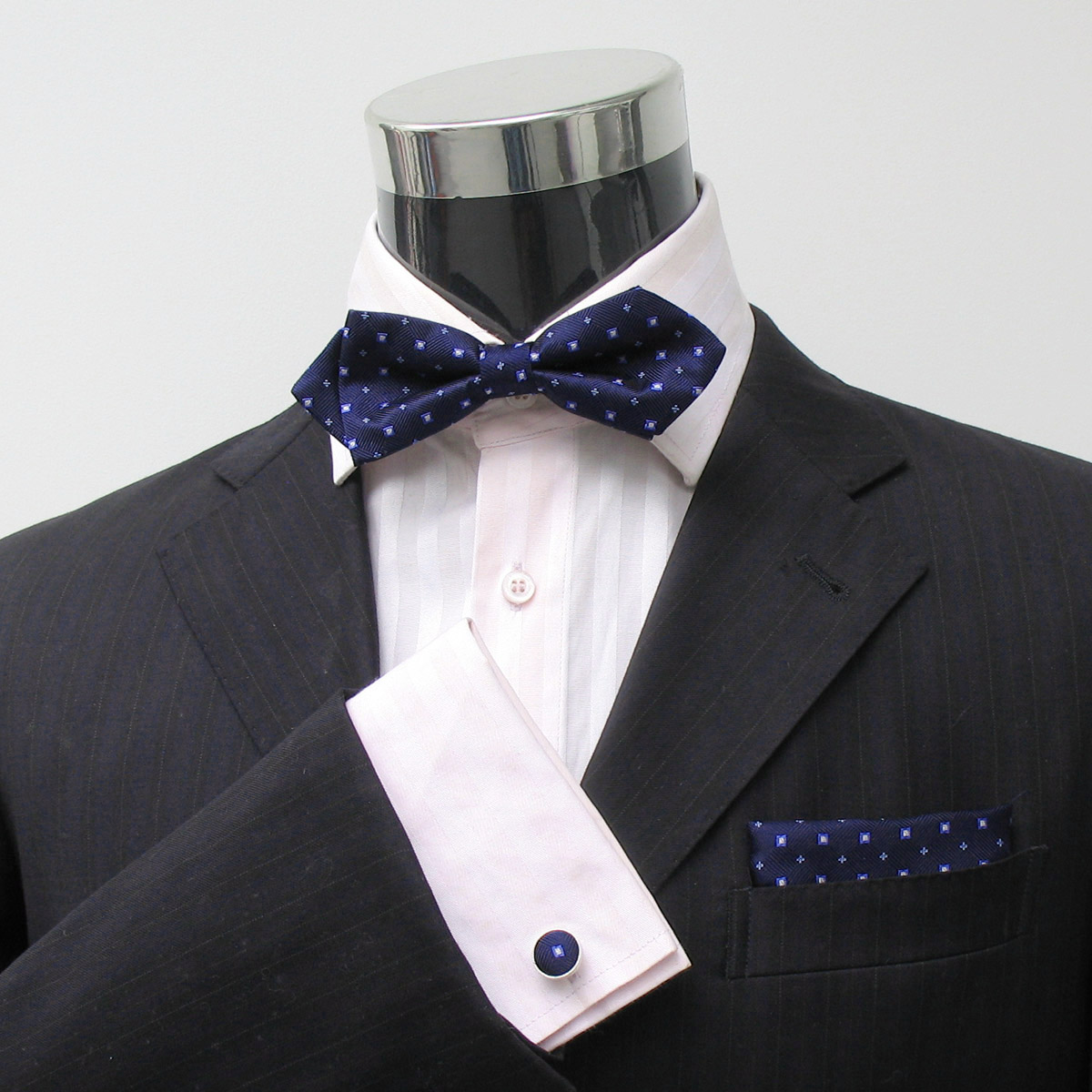 新郎领结 韩版男士高档真丝口袋巾袖扣 礼服领带 英伦领结A-825