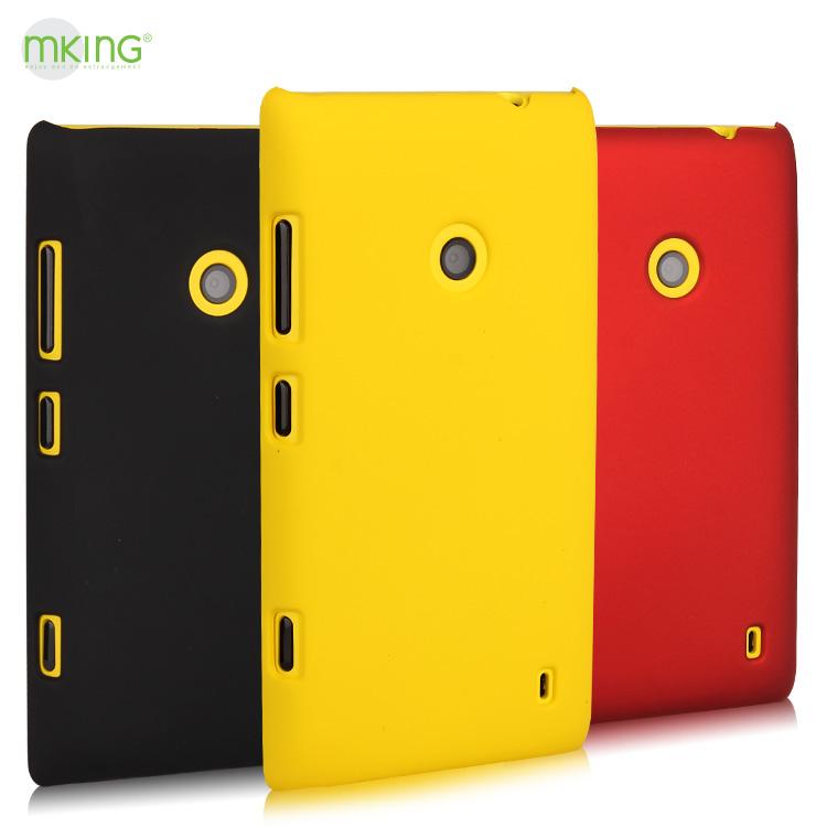 Чехлы, Накладки для телефонов, КПК Mking 520 520 Lumia520 Простой стиль