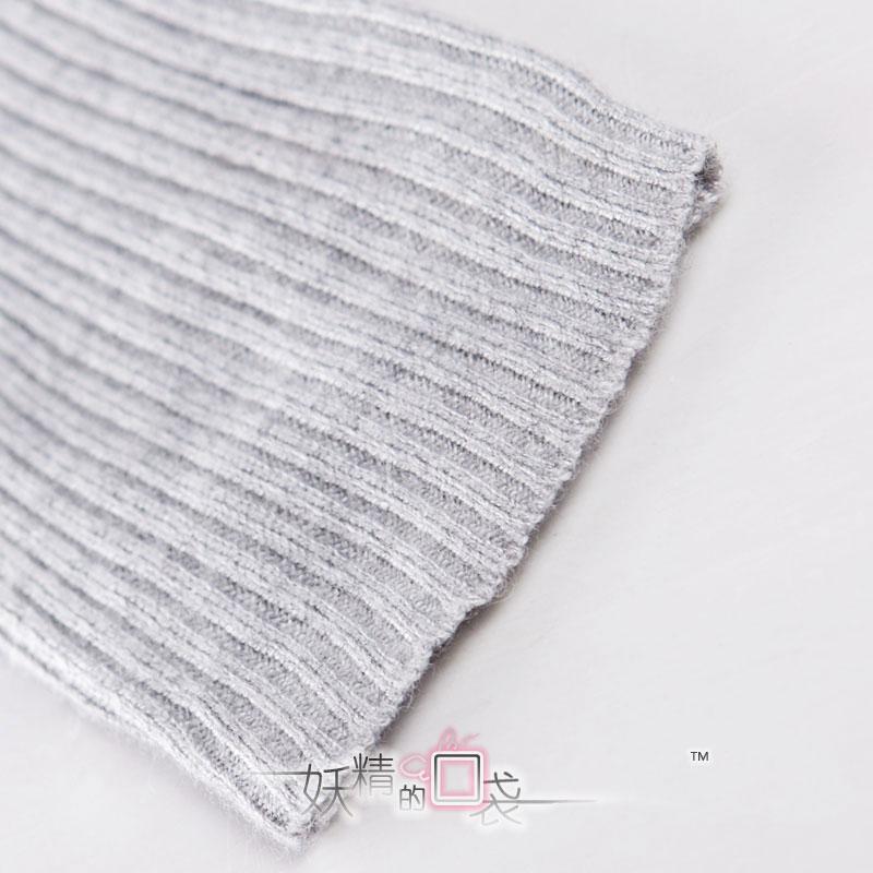 Свитер женский Elf sack 139160 Овчина Зима 2011 Длинный рукав Классический рукав V-образный вырез