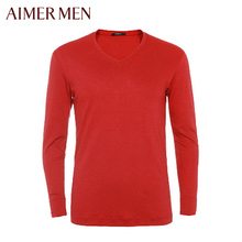 Mr. Aimer Men Love Long-sleeved Men's Underwear Counters Original Warm Sun Clothing NS72243