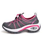 登山鞋女正品夏秋季透气防滑轻便运动鞋户外鞋徒步鞋女减震健步鞋