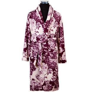 Цвет: мужской 7116 фиолетовый Халат