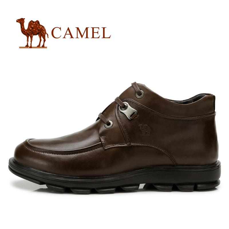 Полуботинки Camel 2286005 Ботинки Шнурок Кожа Кожа быка Мягкая кожа Низкое голенище (10-20 см) Круглый носок