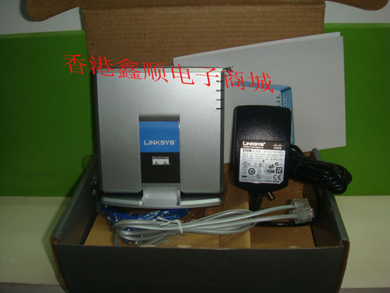 Шлюз VOIP Linksys  PAP2T