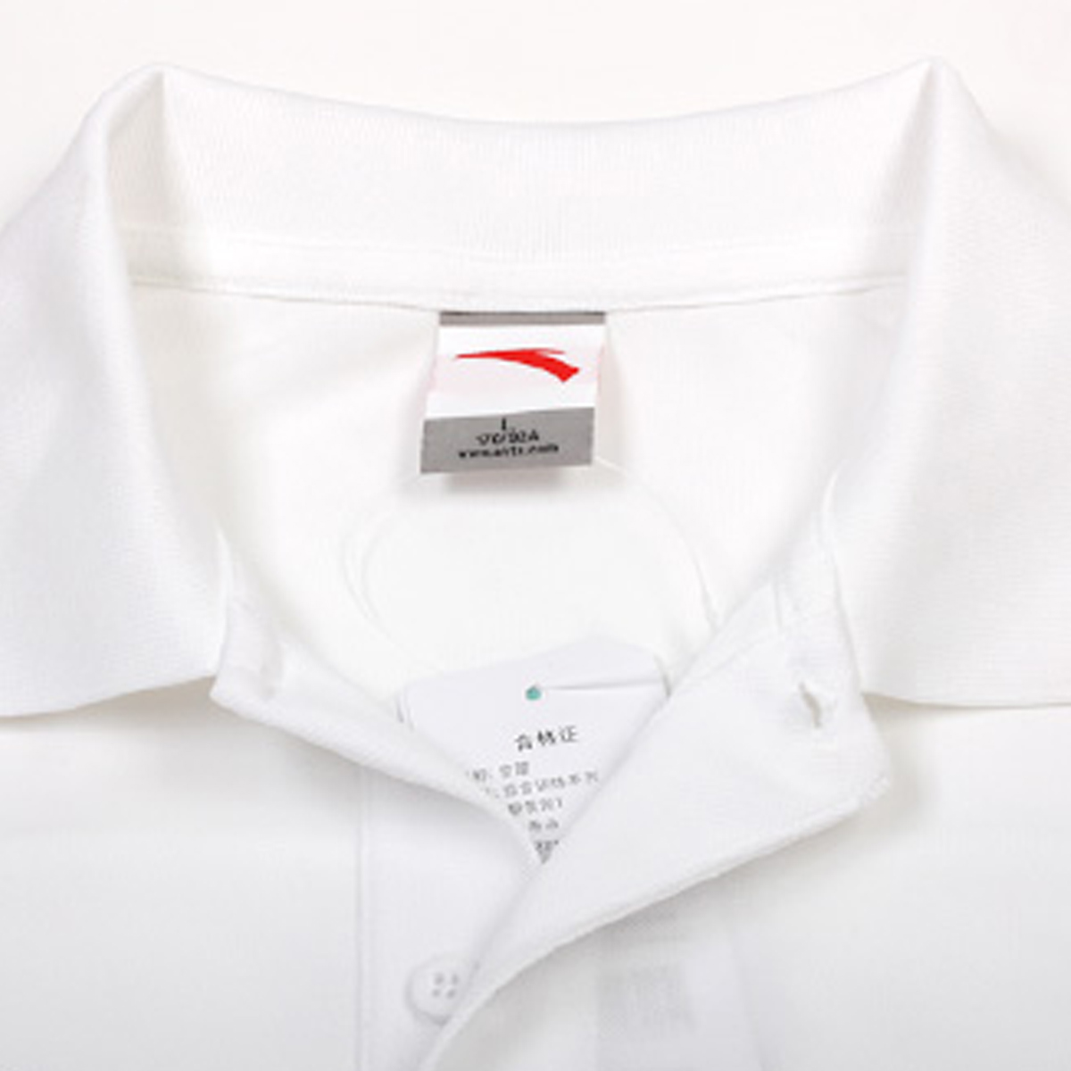 Спортивная футболка Anta 5027121/1 5027121-1 Воротник-стойка Полиэстер Для спорта и отдыха Влагопоглощающие