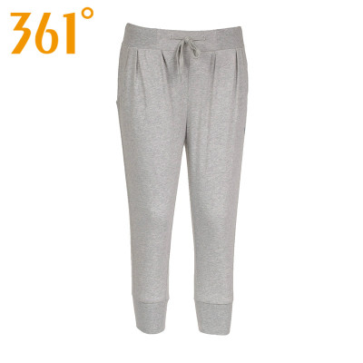 Women's 361 degrees genuine 2014 summer new female drawstring pant breathable sports pants 561426801B