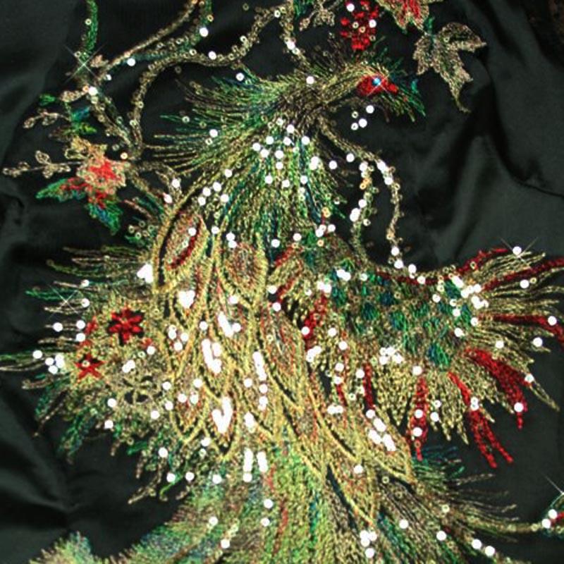 Вечернее платье Новые--красивая версия улучшение качества Феникс cheongsam, тост платье костюм черный/красный/фиолетовый