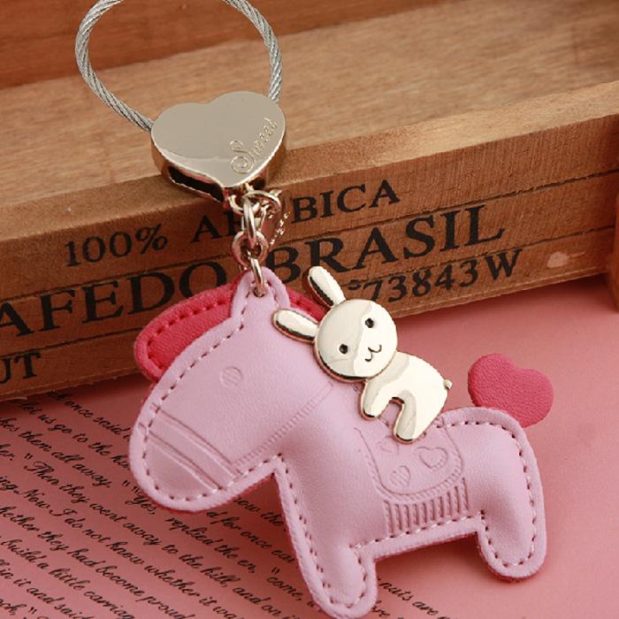 Цвет: Кролик езда (живот) люблю розовый