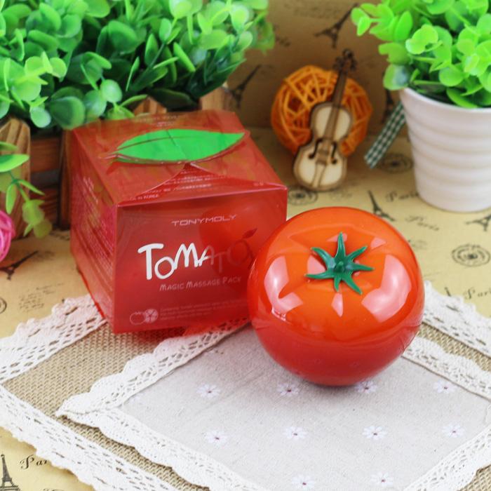 Tony Moly волшебный помидор Томатная маска отбеливание увлажняющая маска новый