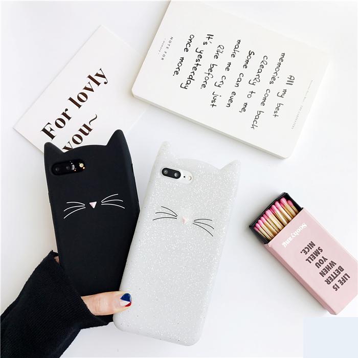 闪粉苹果6plus手机壳日韩卡通可爱iphone7硅胶套全包软防摔女款7p