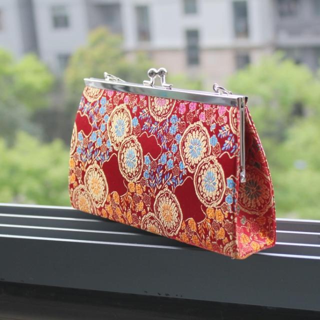 Сумка OTHER Девушки Женская сумка Цветы Шелк