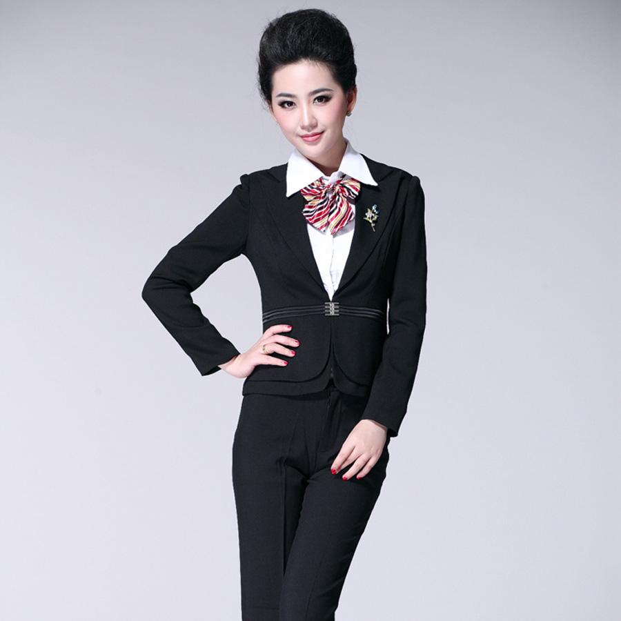 Цвет: Черные: костюмы + брюки