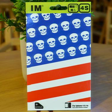 Цвет: I4/4S Соединенных Штатов скелет