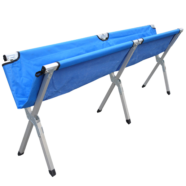china aluminum portable camp bed office lunch nap recliner chair folding sheets reinforced folding bed camp bed office