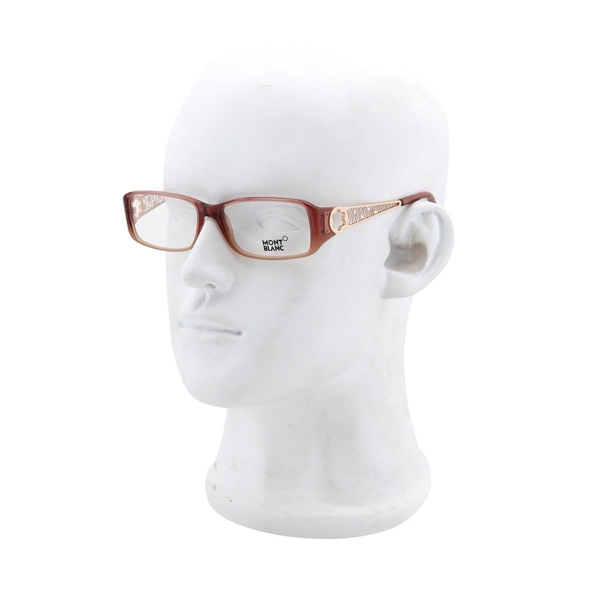 Очки Montblanc MONT BLANC Металл и полимер Полимерные линзы