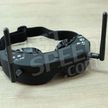FPV aerial video glasses integration figure 5.8 G receiver front facing camera Can match myopia glasses