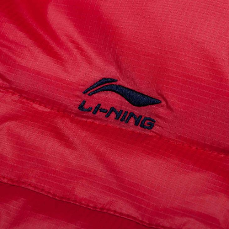 Спортивный пуховик Lining aymf164/1 AYMF164-1 Женские 70 серый утиный пух Другой Спорт и отдых С логотипом бренда % Молния