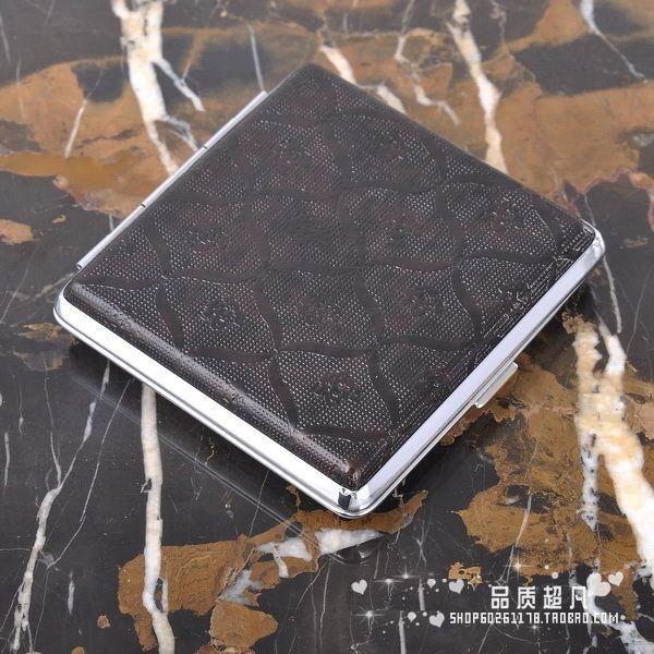 Портсигар -614-20 Кожаный материал Разное