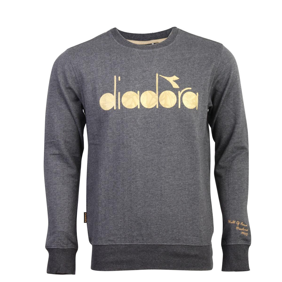 Спортивная толстовка Diadora 11101001blk 11101001 Для мужчин Пуловер Разное Бадминтон Защита от ультрафиолетового излучения, Быстросохнущие, Удерживающая тепло, Воздухопроницаемые Осенью 2011 года