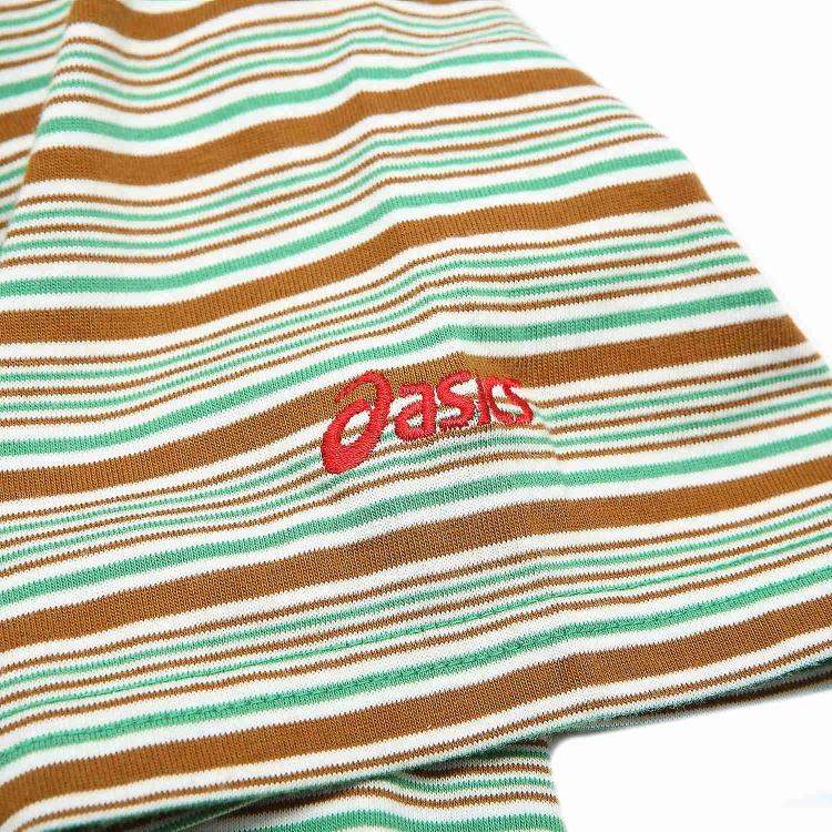 Рубашка поло Asics xaz754/8065 POLO XAZ754-8065 Для мужчин 100 хлопок Стандартный Короткие рукава ( ≧35cm ) Логотип бренда % Для спорта и отдыха