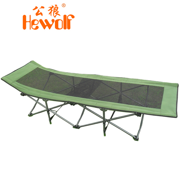 Hewolf / male wolf folding bed office nap bed camp bed siesta bed twin bed beach bed nets 1154