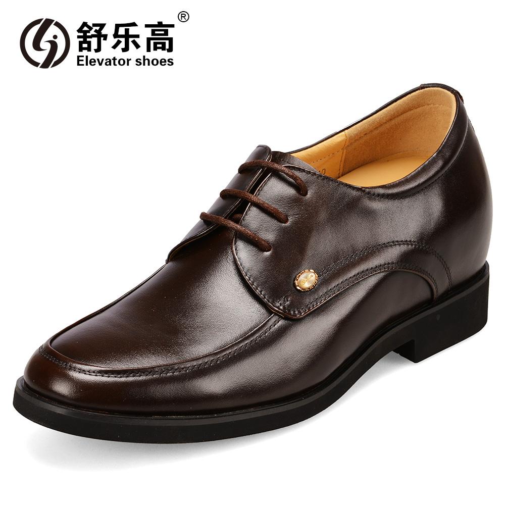 Демисезонные ботинки Shu Lego 3761 Официальные Верхний слой из натуральной кожи Плоский носок Шнурок Весна и осень