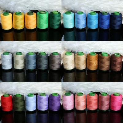 缝衣服的线 缝纫线家用小卷手缝线 黑白线302缝衣线线团针线600码