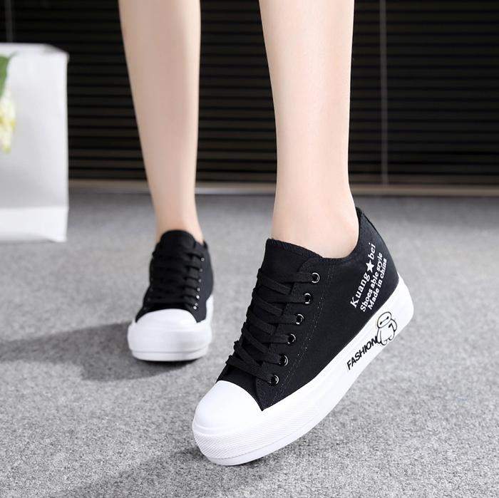 12岁14春秋季14初中生帆布鞋子16高中学生15少女孩韩版运动休闲鞋