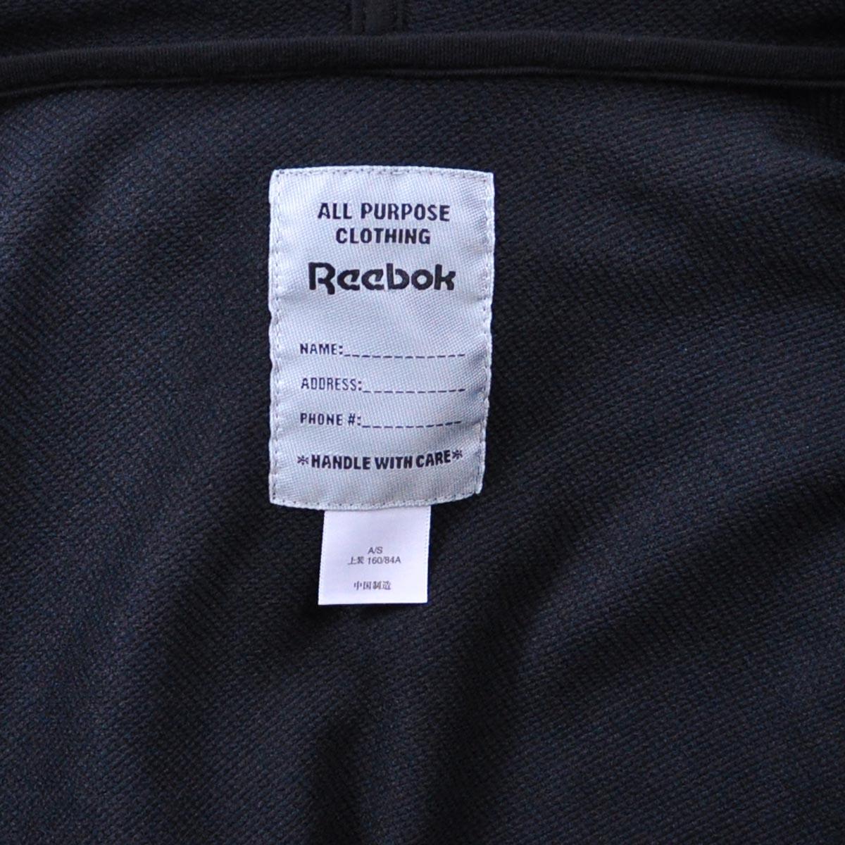 Спортивная куртка Reebok rb8918 65 K99251 Женские Воротник с капюшоном Молния Для спорта и отдыха Логотип бренда Удерживающая тепло, Износостойкая, Воздухопроницаемые