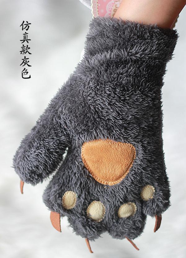 Цвет: Моделирование медвежий коготь темно-серый