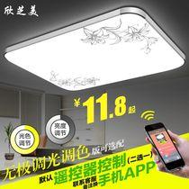 LED吸顶灯长方形遥控大气客厅灯饰现代简约卧室灯餐厅灯阳台灯具