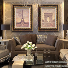 Heart authentic adornment picture The sitting room of modern framed paintings Sofa setting wall mural z0011 that hang a picture