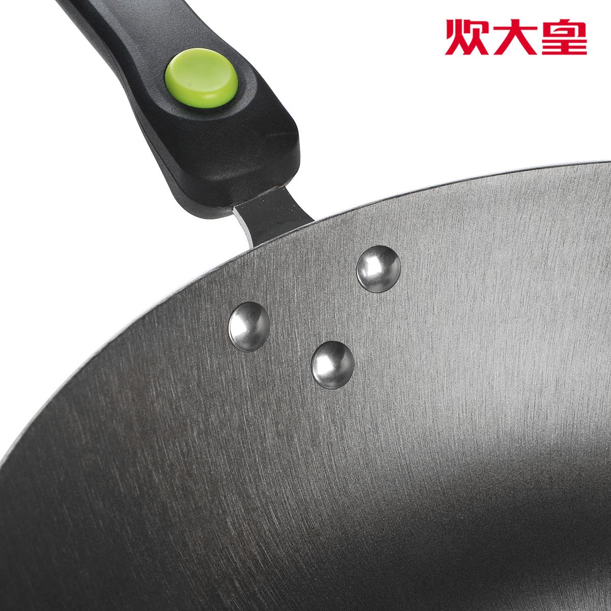 Сковорода Imperial cooker king Чугун Не чадит, С антипригарным покрытием, Без покрытия Для газовой плиты 32 см