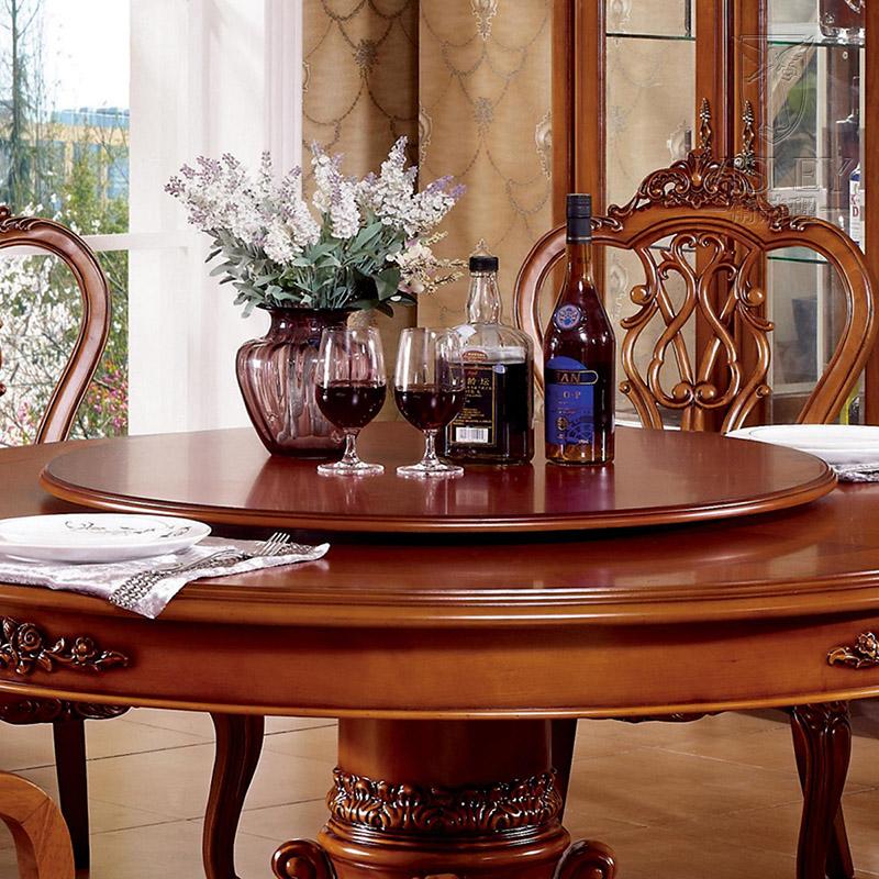 卫诗理家具 欧式餐桌 美式实木1