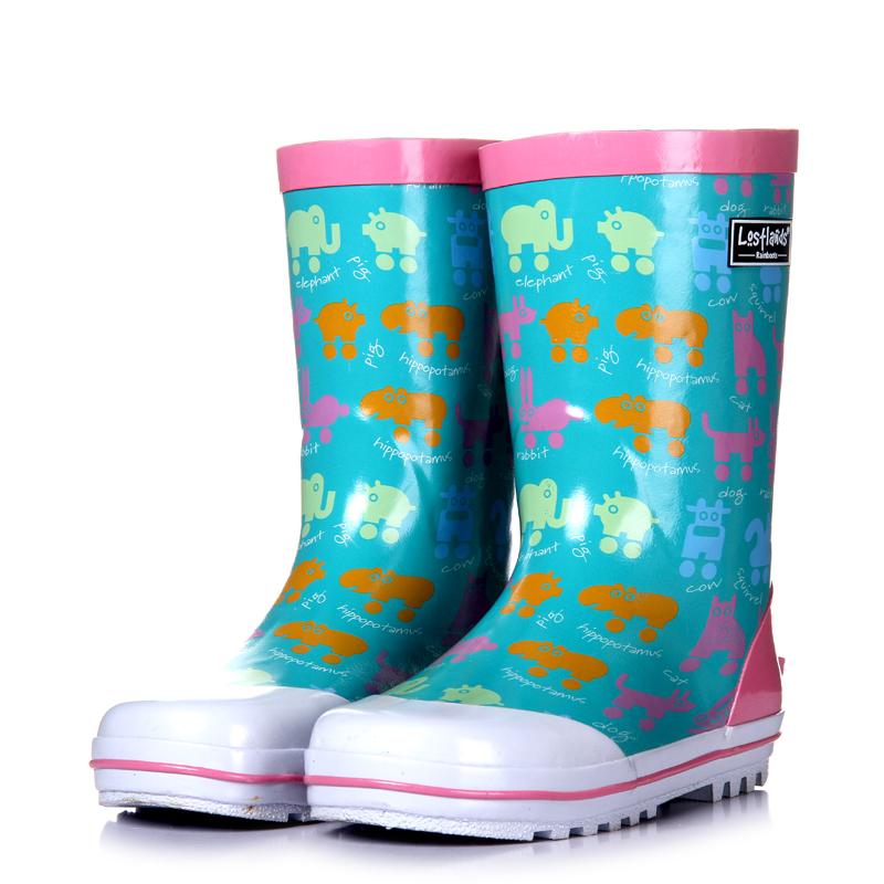 Резиновые сапоги детские Good rain season, A Good Rain Knows C1 Девушки, Для молодых мужчин, Унисекс Весна-осень Среднее голенище ( 20-28 см)