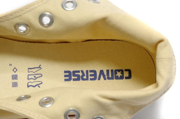 Женские кеды Converse ce7688yz/2 2013 Шнурок Резиновая подошва Высокая Однотонный цвет Платформа