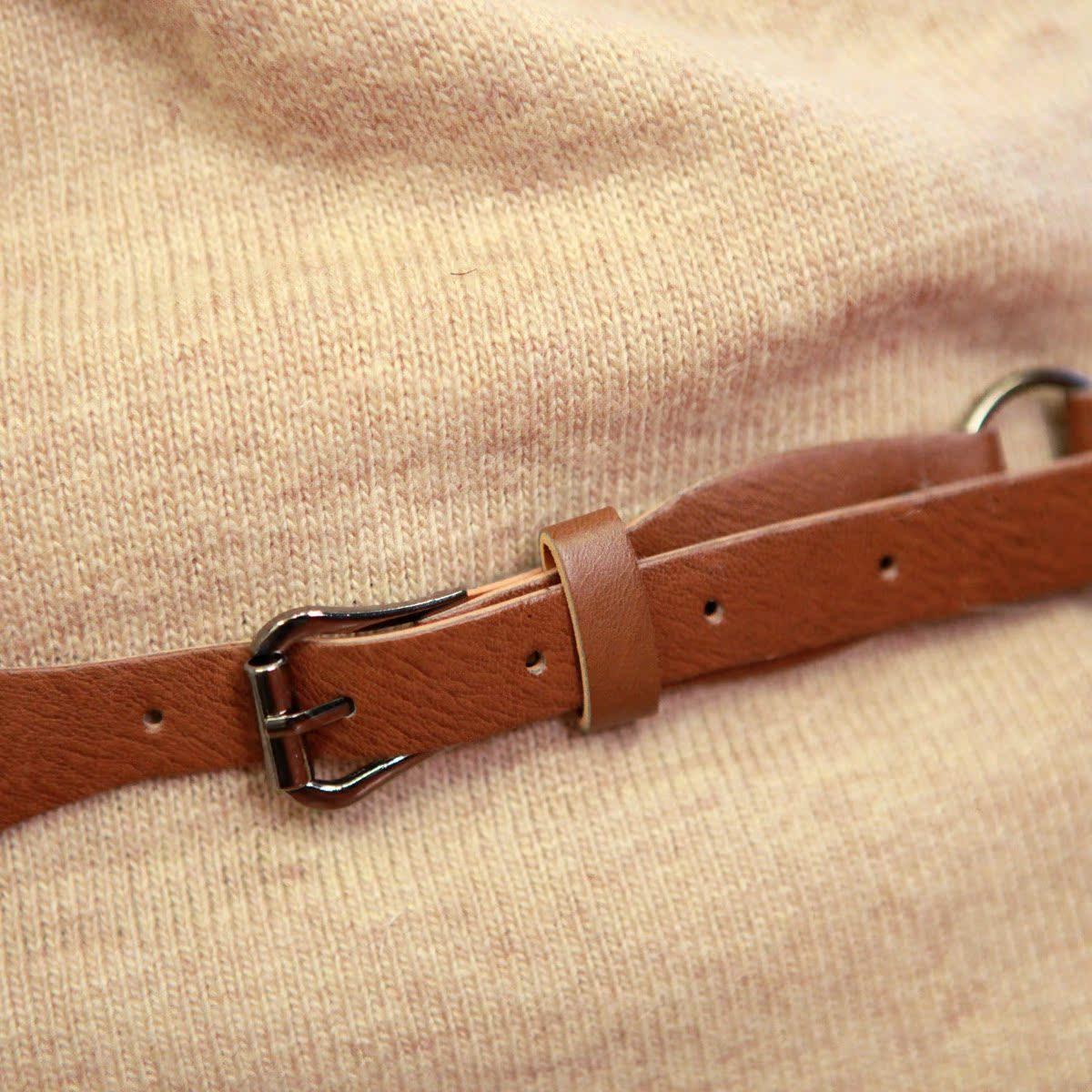 Свитер женский More brands 2012 овчина осень 2012 длинный рукав классический рукав отложной воротник