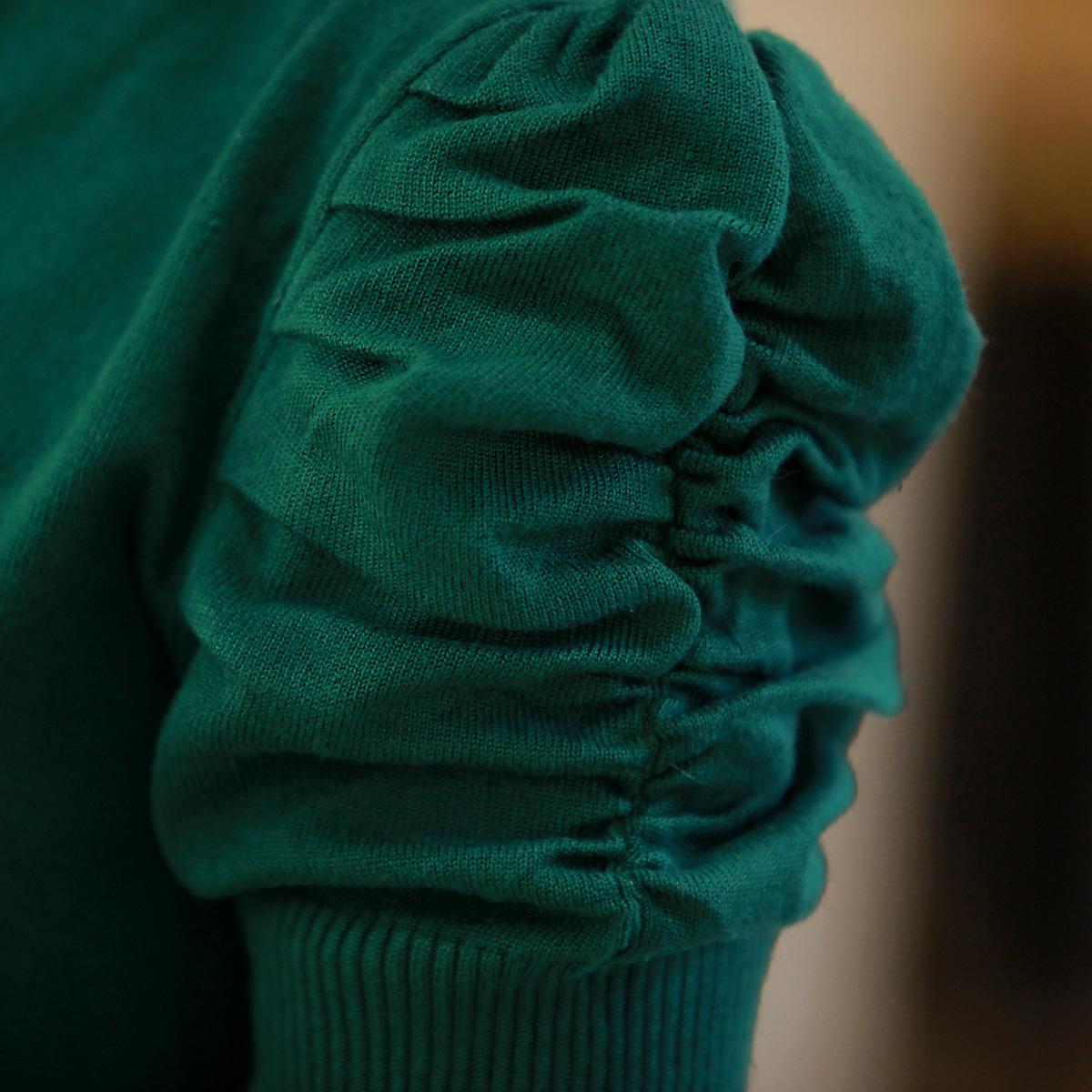 Свитер женский OTHER 2013 Хлопок Зима 2012 Длинный рукав Объемный рукав Высокий воротник