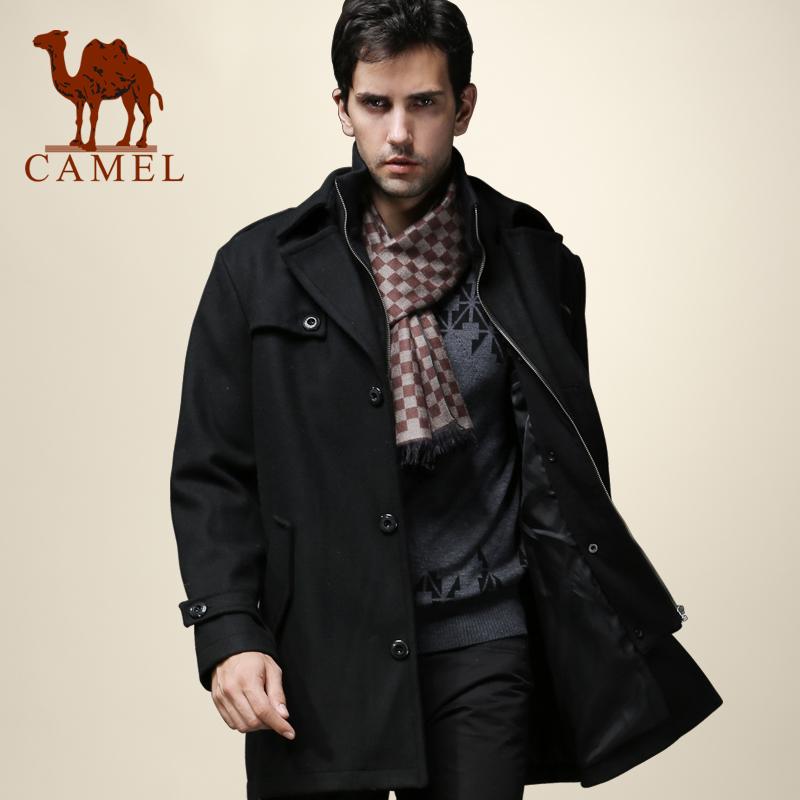 【骆驼】羊毛呢大衣