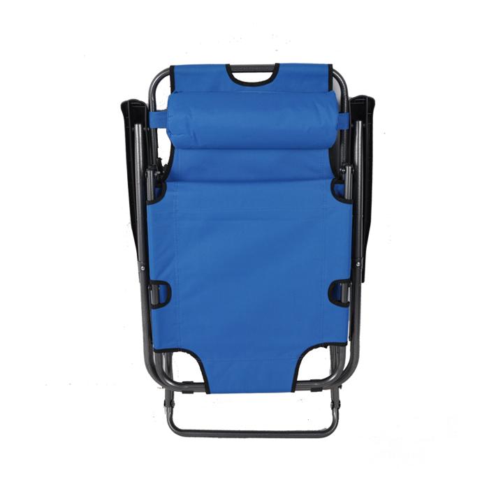 午憩宝 办公室躺椅折叠午休 折叠椅休闲椅靠背午睡椅子沙滩椅加厚