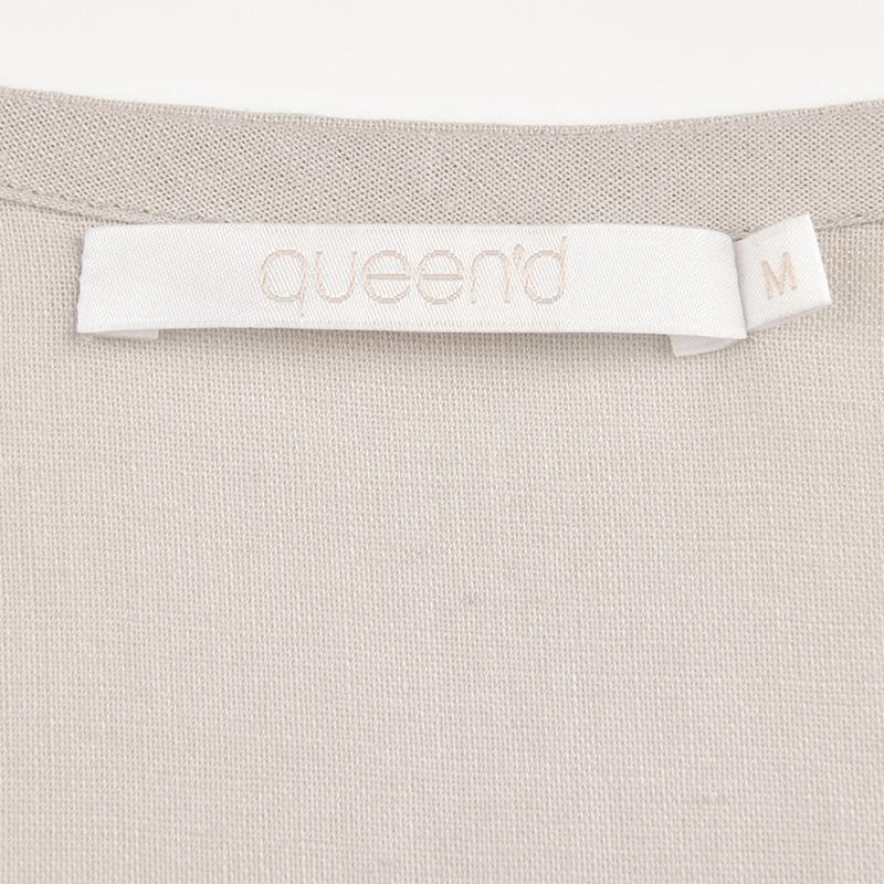 Ночная рубашка Queen'd Лен Весна