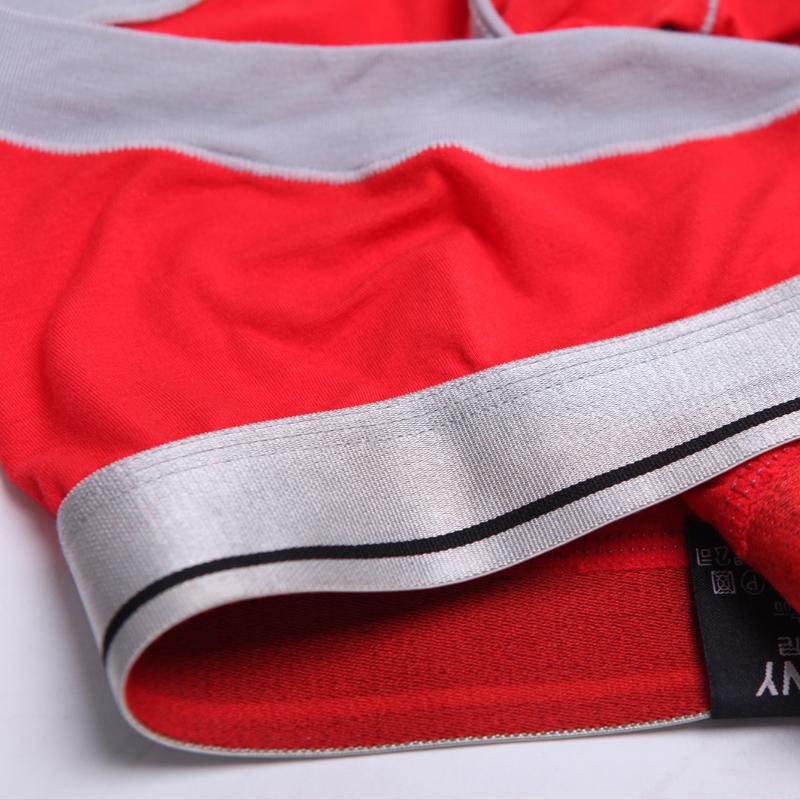 Трусы Vimny v6000a Для молодых мужчин Хлопок Плавки Модифицированное вискозное волокно Однотонный цвет U-образный дизайн Сексуальный и очаровательный стиль