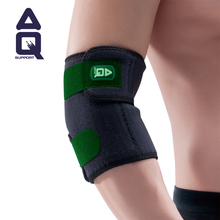 Gifting Benefits United States Original AQ Elbow Male Badminton Basketball Gym Sport Arm Guards Female Tennis Brace