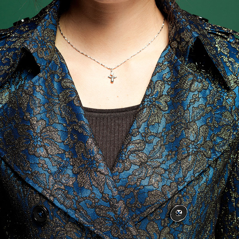женский плащ Xinyu Springs s150a13 2013 Осень 2013 Разные материалы Облегающий покрой Отложной воротник Классический рукав