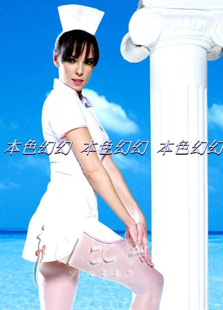 Комплект эротического нижнего белья 205097 Наряд медсестры Другое Другое