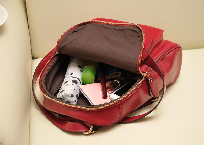 Сумка Корейская версия 2013 новый колледж европейских и американских ретро стиль сумка конфеты цветные Сумки на плечо прилив женщин двойного назначения сумки Девушки Рюкзак Однотонный цвет Искусственная кожа