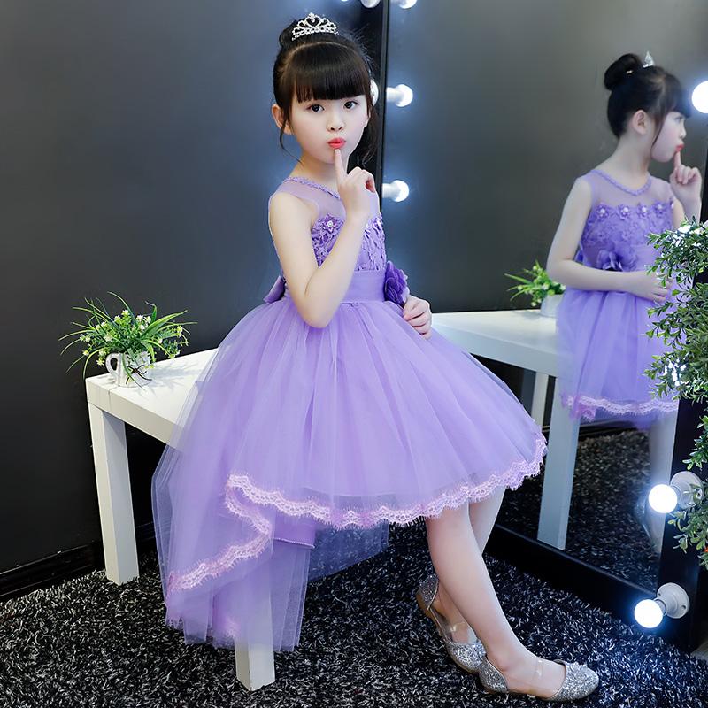 大童女童连衣裙公主裙蓬蓬纱儿童礼服夏装2019新款女孩超洋气裙子